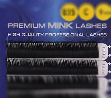 Load image into Gallery viewer, Premium Mink Lashes C-Curl (0.25mm)
