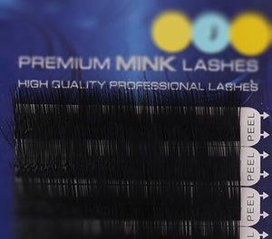 Premium Mink Lashes J-Curl (0.15mm)