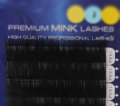 Premium Mink Lashes J-Curl (0.25mm)