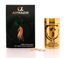 Load image into Gallery viewer, Alpahgin 100% Korean Red Ginseng Extract Tablets