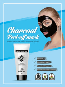 SP Natural Charcoal Peel-Off Mask - Made in Korea