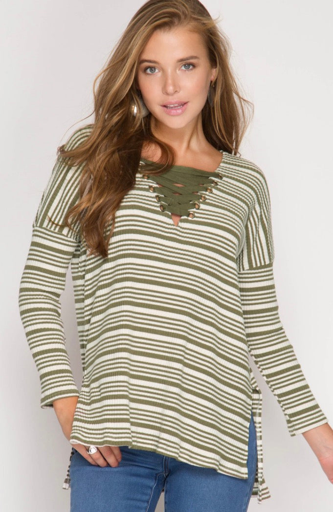 The Perfect Striped Long Sleeve