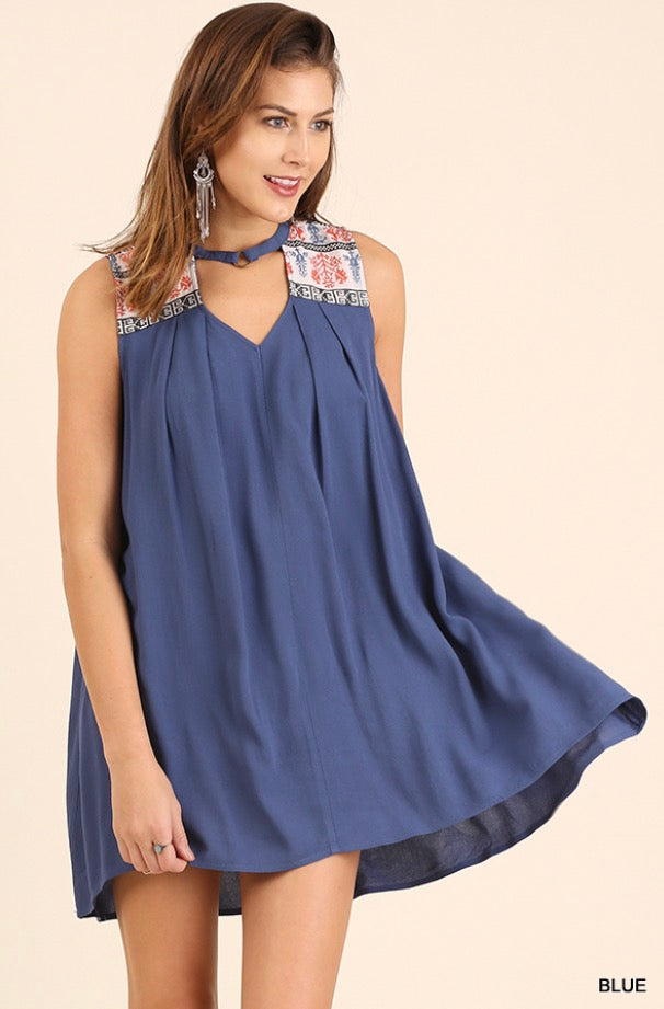 Sail Away Blue Dress