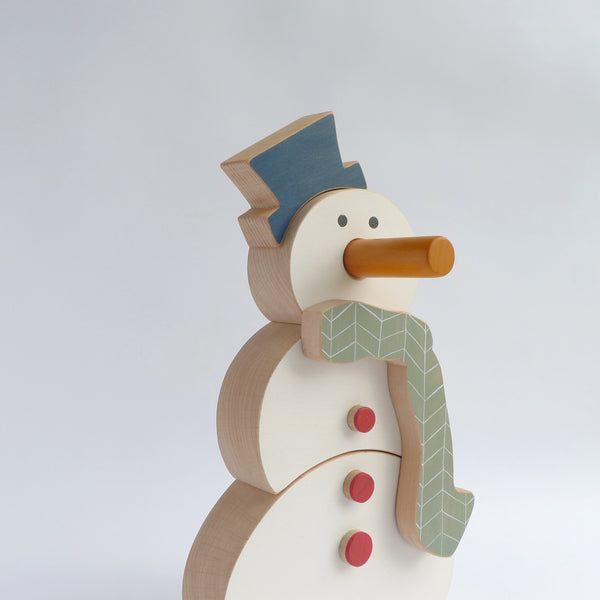 Petros the snowman - Christmas contruction toy