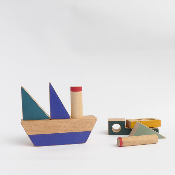 Stacking boat toy- My first construction toy