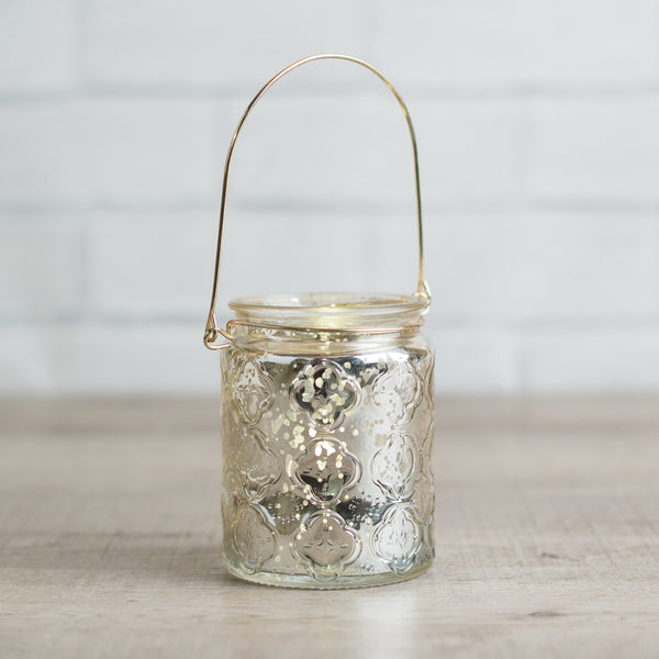Sparkly tea-light holder