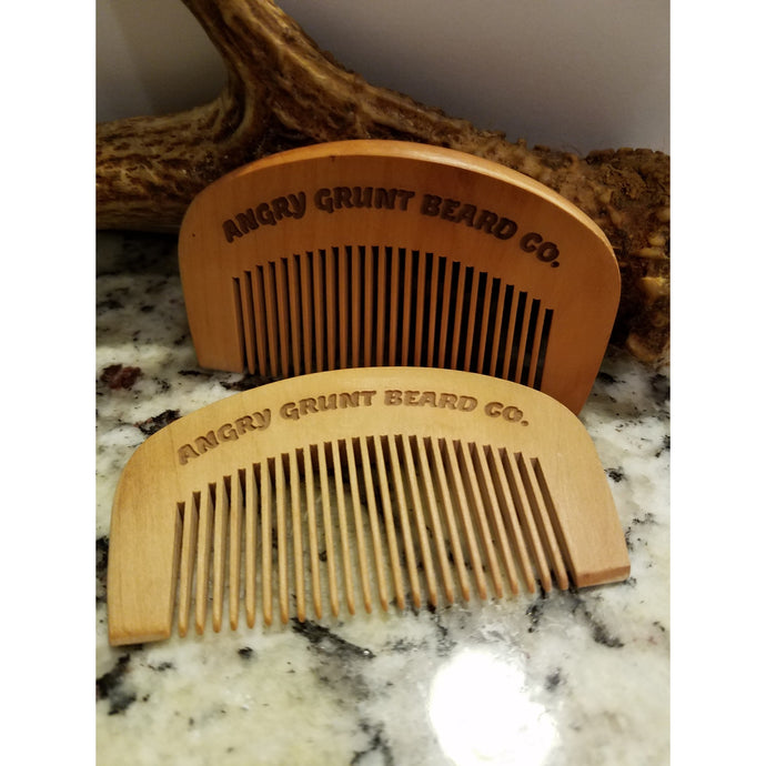 Beard and Mustache Comb
