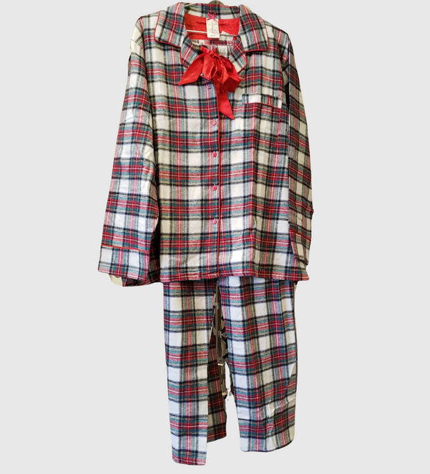 KayAnna Flannel Plaid PJ