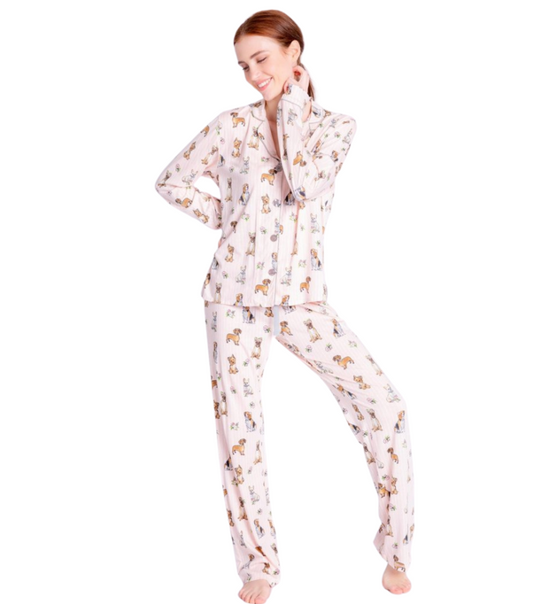 PJ Salvage LOVE Playful PJ Sets w/Mask