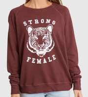 good hYOUman Strong Female Top