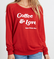 good hYOUman Coffee & Love - Low Neck Top