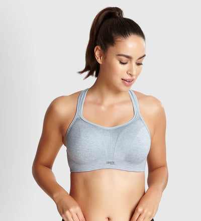 Panache Sports Wired Bra - Grey