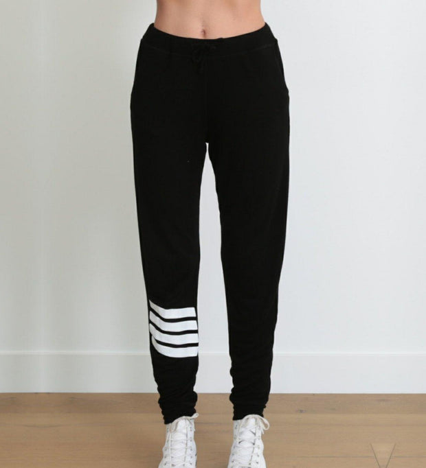 good hYOUman Stripe Joggers