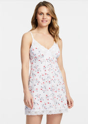 Montelle - Bust Support Chemise (Cherry Blooms)