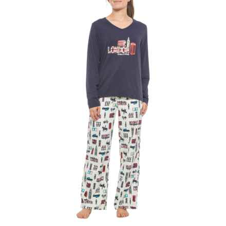 KayAnna London Calling Flannel PJ Set