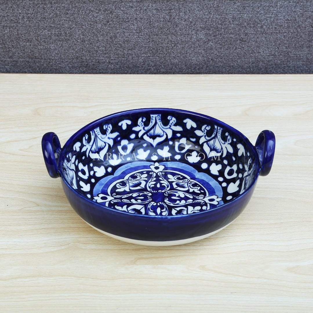 Ceramics Blue Celico Karahi - Set of 2 Small