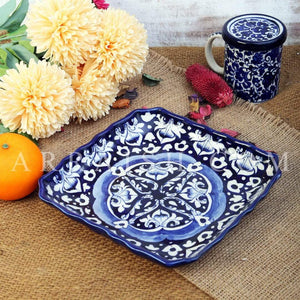 Ceramics Blue Celico Medium Serving Dish