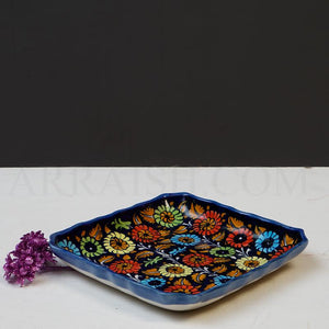 Jungle Flower Square Dish - arraish.myshopify.com