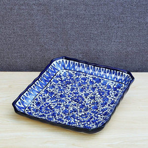 Ceramics Serina Blue Small Square Dish