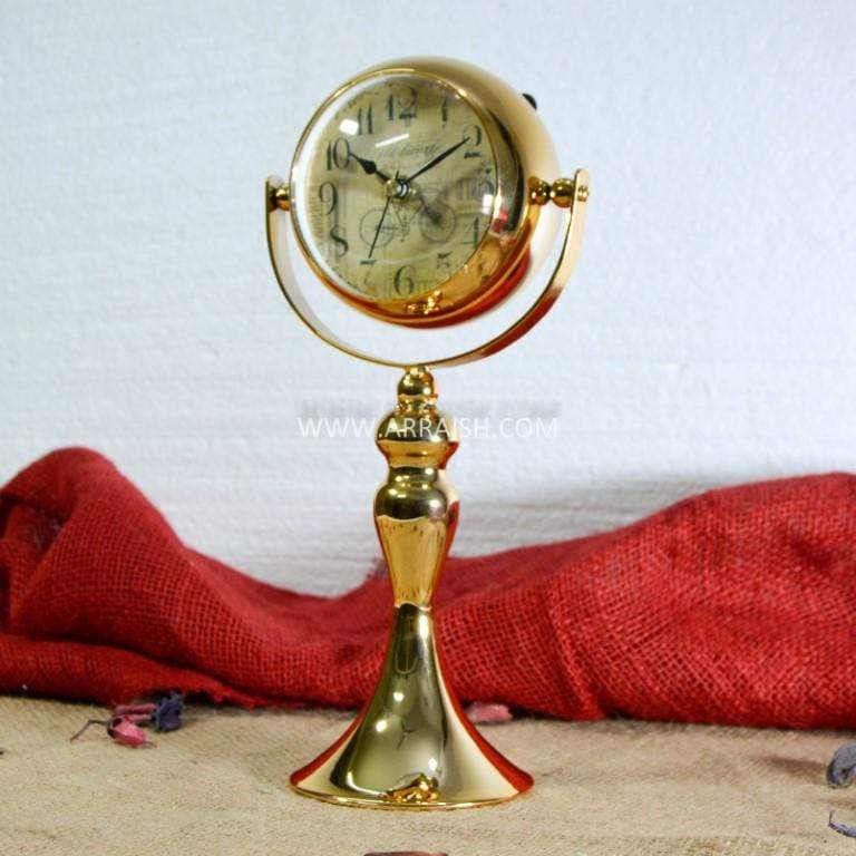 Decor Lamp Post Table Clock  - Table Decoration