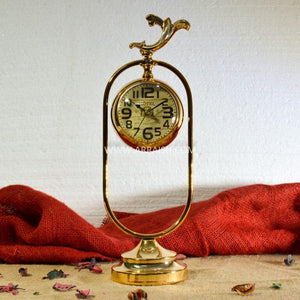 Golden Clock - Table Decoration