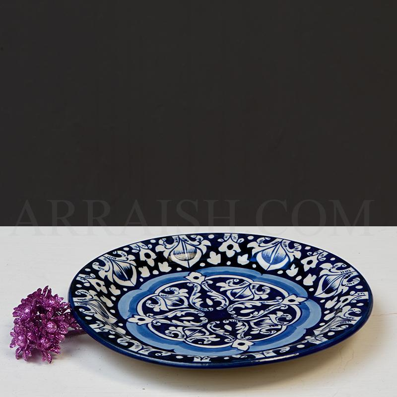 Plates & Platters Blue Celico Dinner Plate