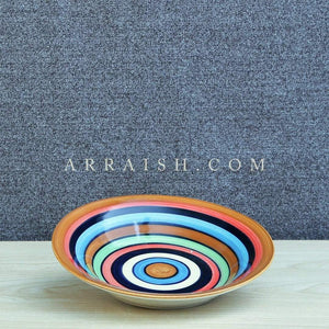 Plates & Platters Colourful Deep Quarter Plate