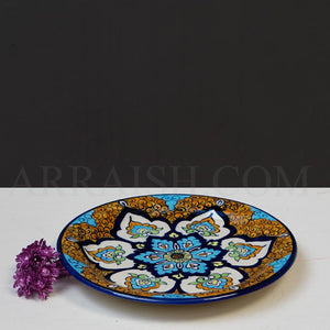 Oriental Dinner Plate - arraish.myshopify.com