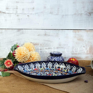Plates & Platters Tranquility Oval Serving Dish
