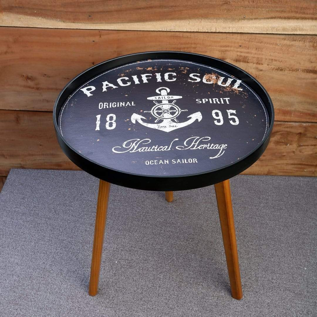 Table Modern Small Round Coffee Table - Pacific Home