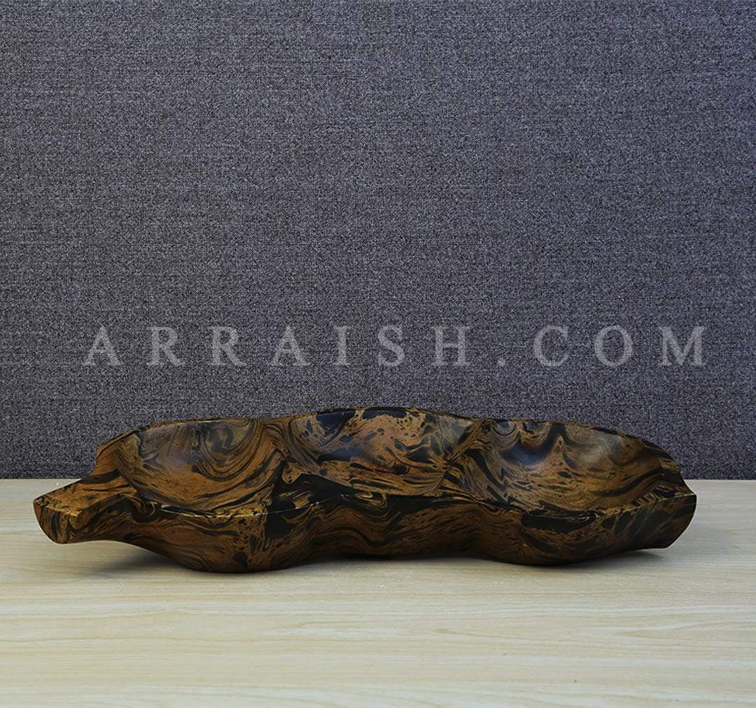 Wood Dry Fruit Serving Tray