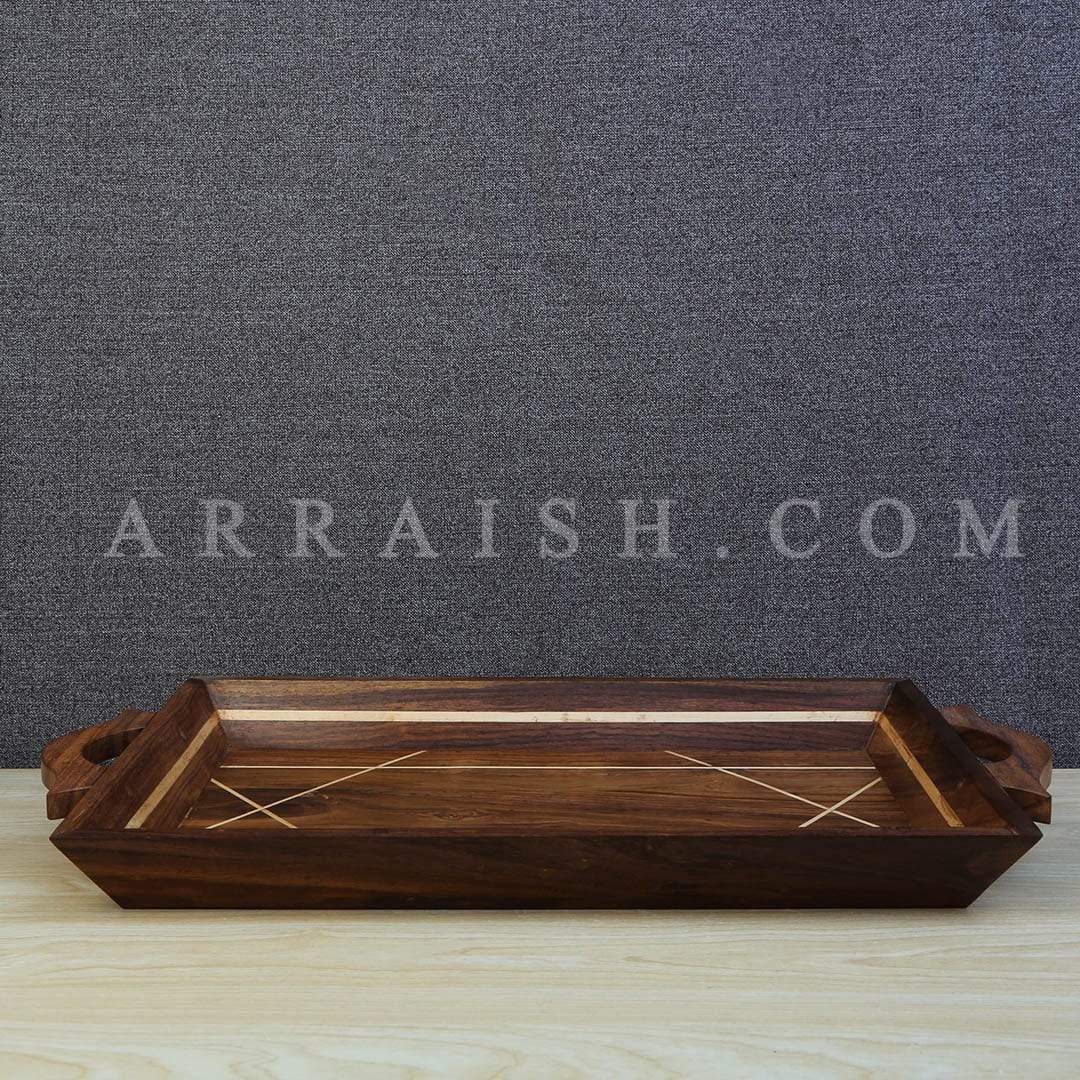 Wood Long Wooden Tray