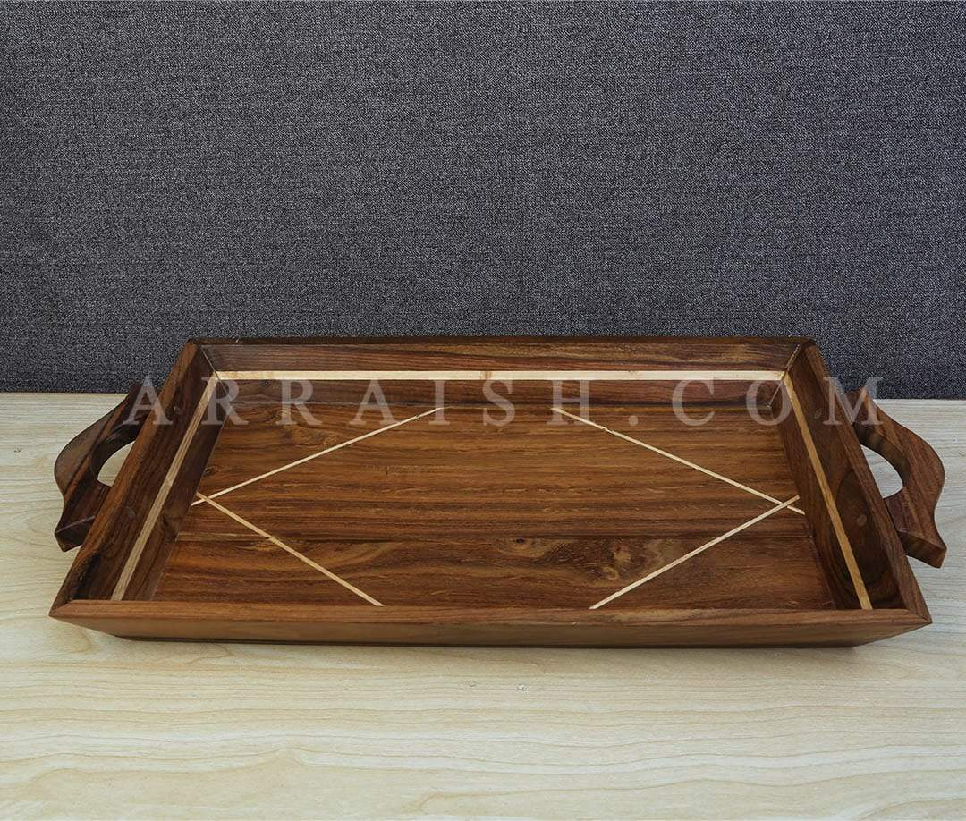 Wood Wooden Tray