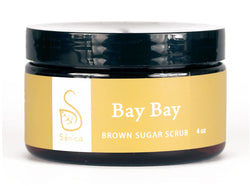 Bay Bay Brown Sugar Scrub - Sénica skin care moisturize dry, sensitive and eczema, prone skin.