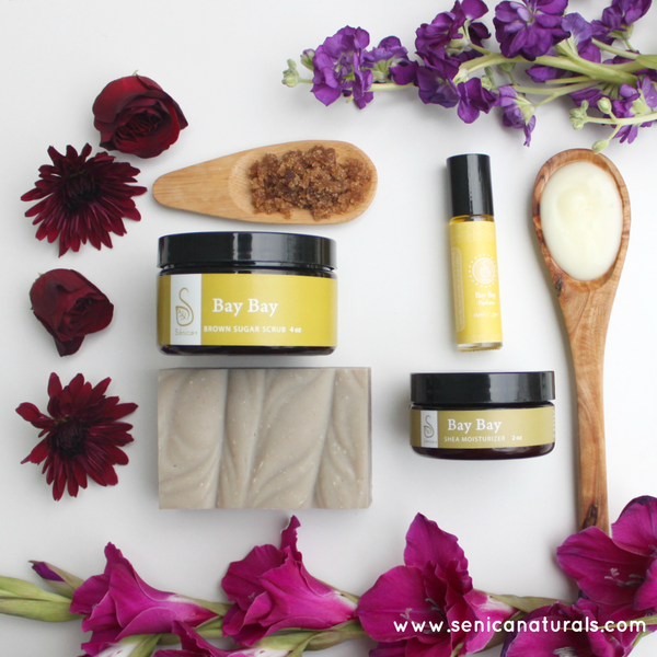 Bay Bay Deluxe Set - Sénica skin care moisturize dry, sensitive and eczema, prone skin.