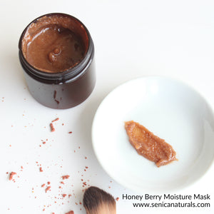 Honey Berry Moisture Mask - Sénica Test Kitchen - Sénica skin care moisturize dry, sensitive and eczema, prone skin.