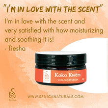 Load image into Gallery viewer, Koko Kwèm Shea Moisturizer - Sénica skin care moisturize dry, sensitive and eczema, prone skin.