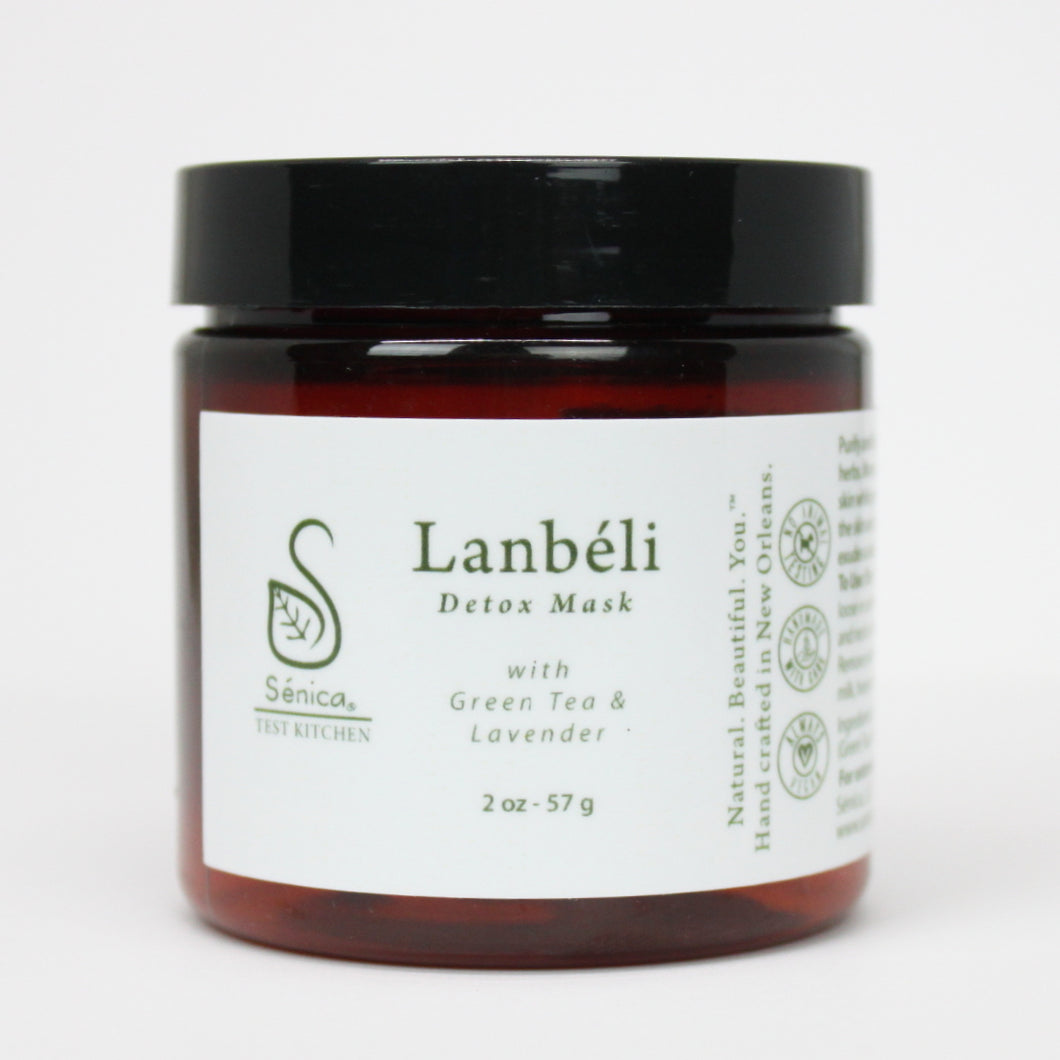 Lanbéli Detox Mask - Sénica Test Kitchen - Sénica skin care moisturize dry, sensitive and eczema, prone skin.