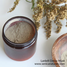Load image into Gallery viewer, Lanbéli Detox Mask - Sénica Test Kitchen - Sénica skin care moisturize dry, sensitive and eczema, prone skin.