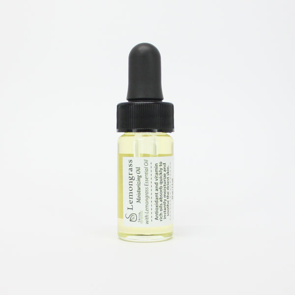 Lemongrass Body Oil (Trial + Travel Size) - Sénica Test Kitchen - Sénica skin care moisturize dry, sensitive and eczema, prone skin.