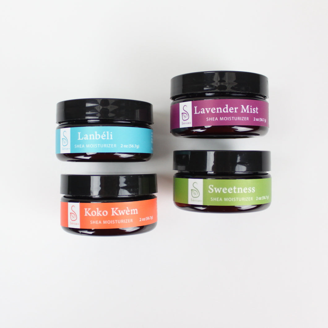 Shea Moisturizer Bundle - Sénica skin care moisturize dry, sensitive and eczema, prone skin.