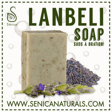 Load image into Gallery viewer, Lanbéli Soap Bar - Sénica skin care moisturize dry, sensitive and eczema, prone skin.