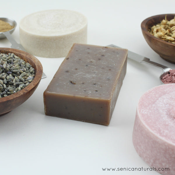 Artisan Soap Bar Bundle - Sénica skin care moisturize dry, sensitive and eczema, prone skin.