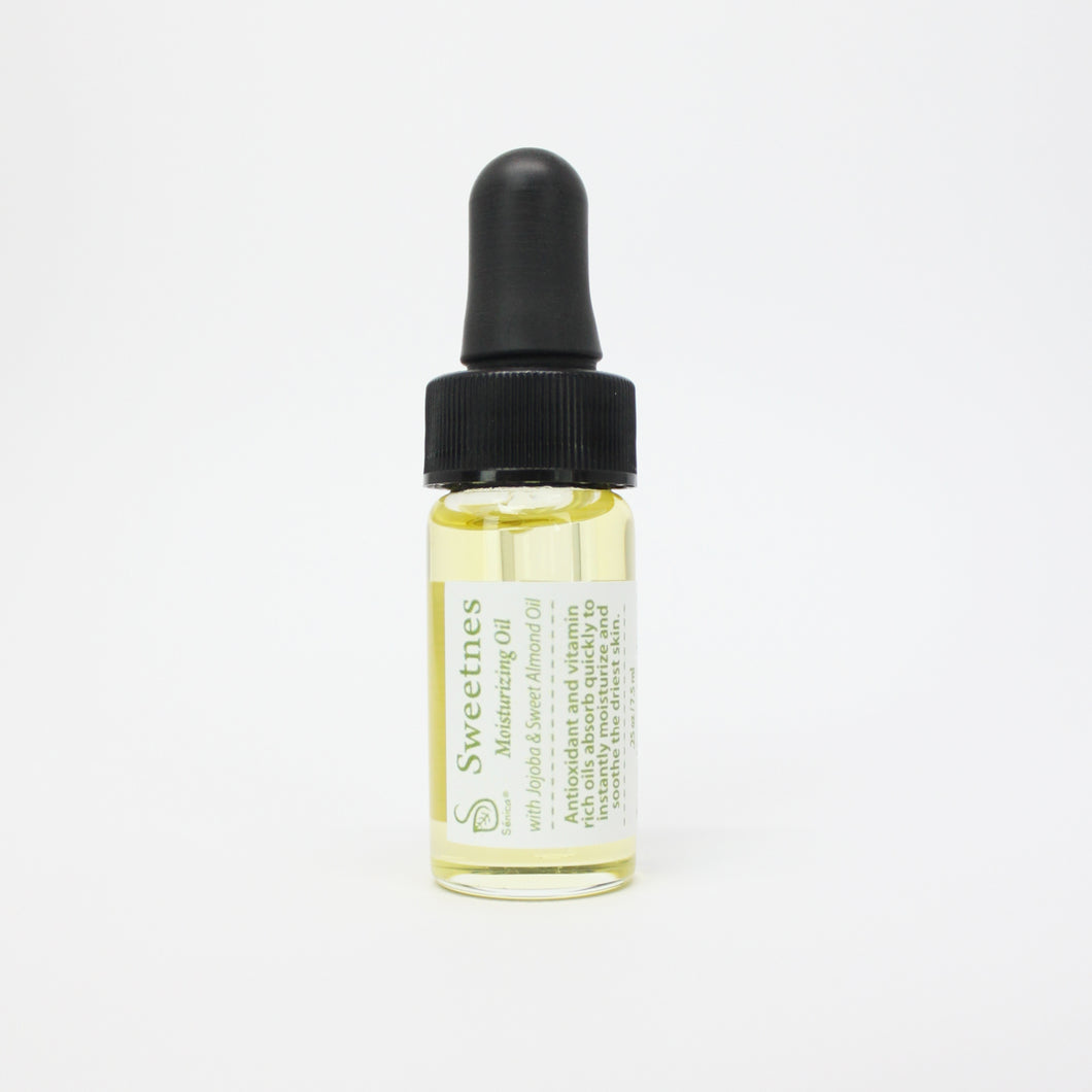 Sweetness Body Oil (Trial + Travel Size) - Sénica skin care moisturize dry, sensitive and eczema, prone skin.