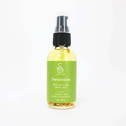 Sweetness Body Oil - Sénica skin care moisturize dry, sensitive and eczema, prone skin.