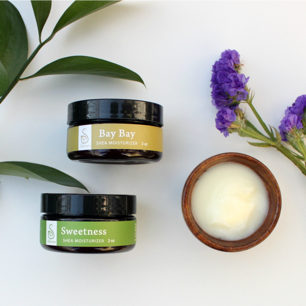Sweetness & Spice Shea Moisturizer Set - Sénica skin care moisturize dry, sensitive and eczema, prone skin.