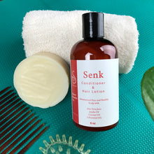 Load image into Gallery viewer, Senk Conditioner & Shampoo Bar Set - Sénica skin care moisturize dry, sensitive and eczema, prone skin.