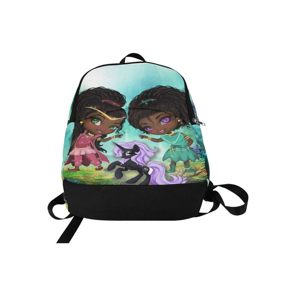 Girls Back To School Black Girl Magic  Backpack with ANY NAME- Kids Children First Grade Kindergarten School Student rucksack -