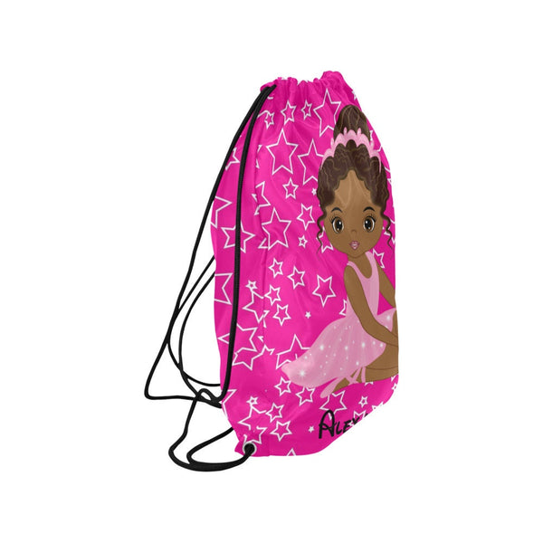 Personalized Ballet Dance Bag with Name, Ballet Drawstring Ballet Bag, Dancer Ballet bag, Dance bag, Dance Gifts, Kids dance bag, Dance Tote