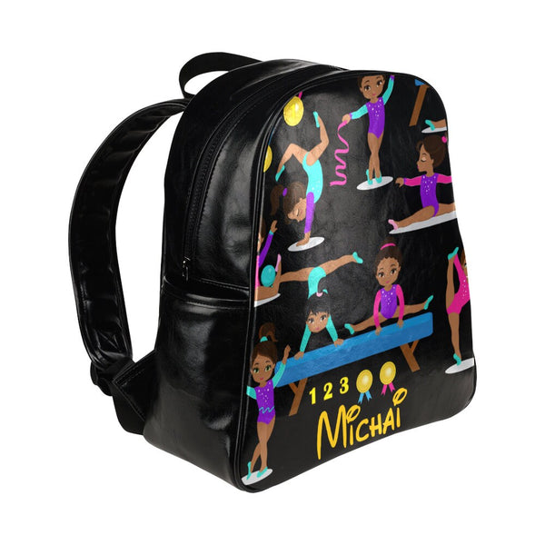 Melanin Poppin' Black Girl Magic| Personalized Black Girl Bookbag | African American |Girls Book bag |School Supplies| Back To School Bag,